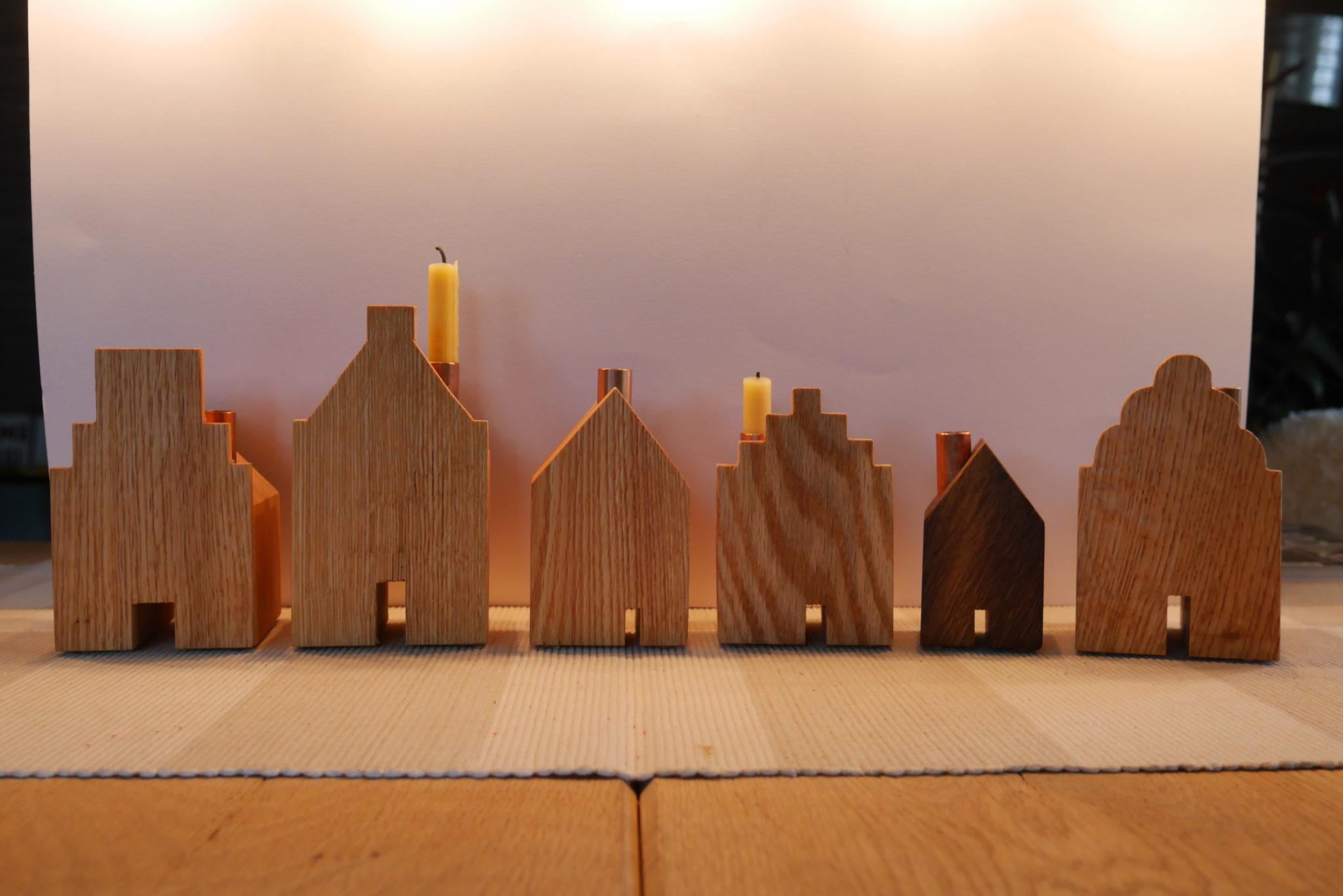 Diverse Kerzenhäuser Lemgoer Facetten
